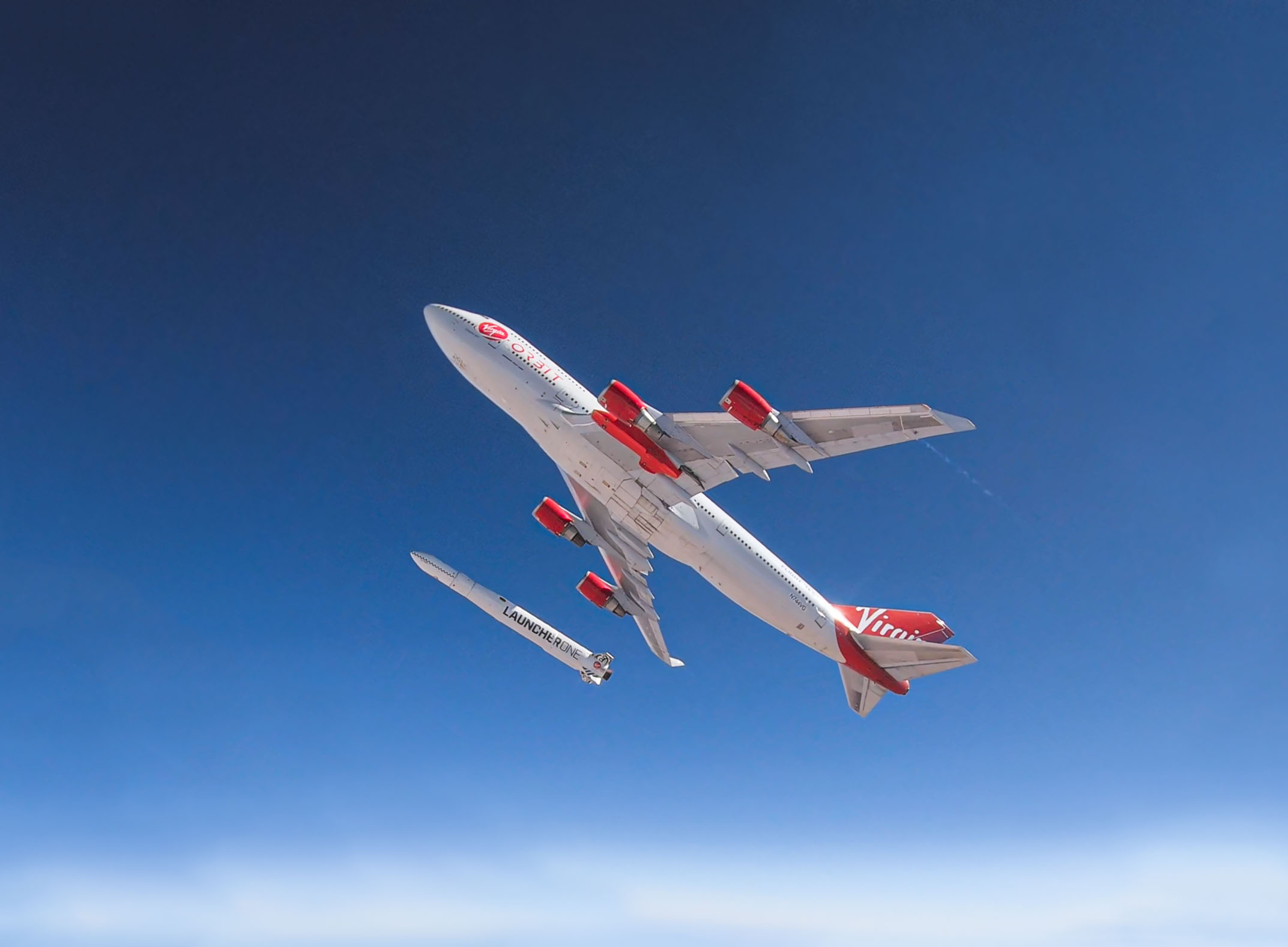 virgin orbit flight to space