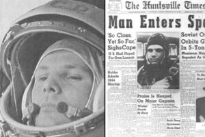 12April1961-Yuri Gagarin Flight to Space