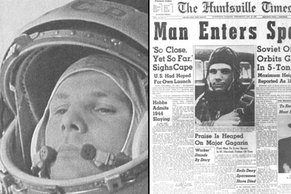 12April1961-Yuri Gagarin Flight to Space