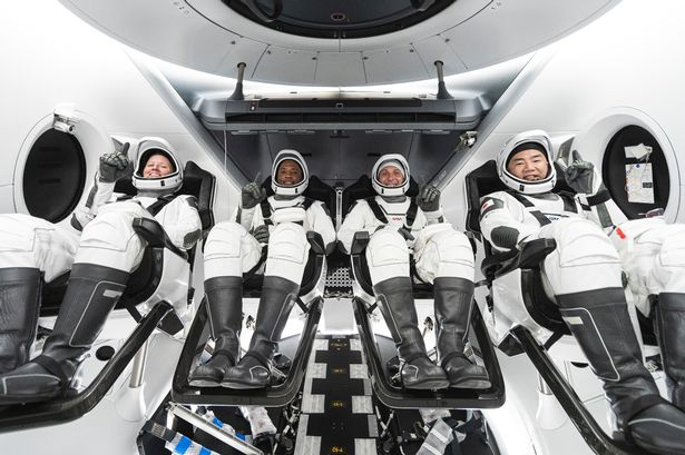 NASA SpaceX Launch of 4 Astronauts