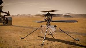 Inegunity Mars Helicopter Flight
