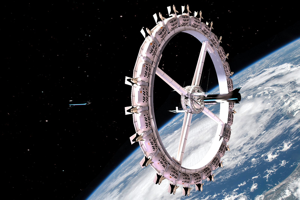 Space Hotel by Orbital Assembly
