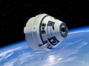 Boeing Starliner Flight to space