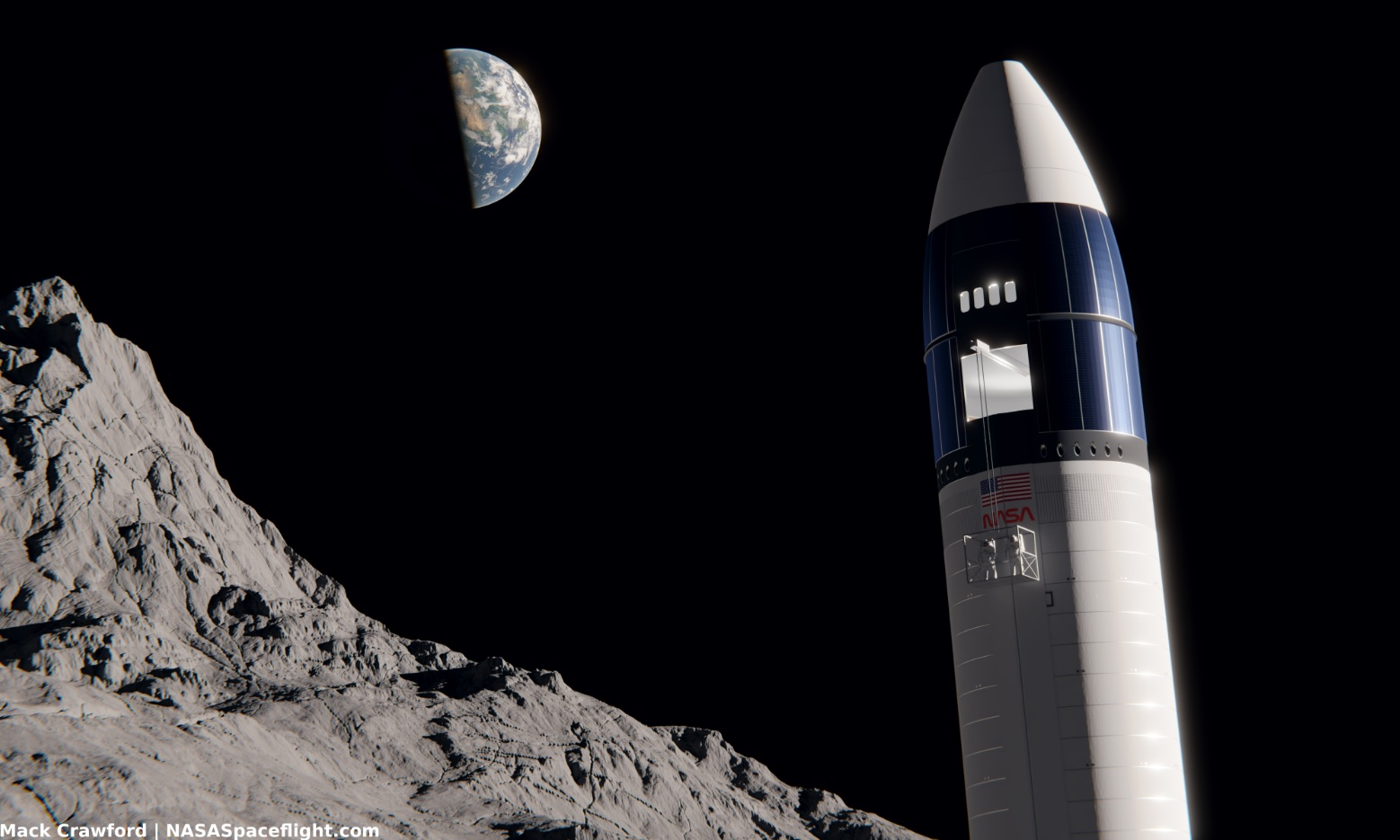 Elon Musk claims SpaceX could launch a Starship to the moon 'probably sooner' than 2024